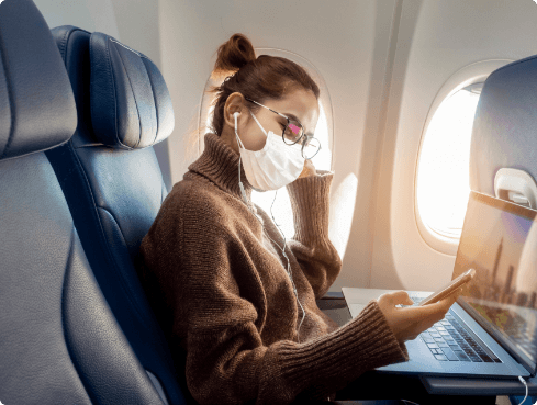 Get ready to fly with your personal travel agency